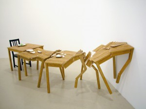 Crashing tables, 2005