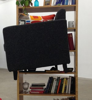 Bookshelf Loveseat, 2013